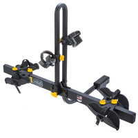 saris freedom 2 hitch rack allows easy removal of your bicycle