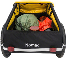 Burley Nomad Cargo Trailer carries 100 pounds