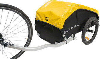 Burley Nomad Cargo Trailer holds 15 liters of cargo