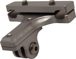 K-Edge Saddle Rail Mount for Go Pro Camera gunmetal sport factory