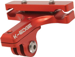 K-Edge Saddle Rail Mount for Go Pro Camera red sport factory