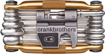 Crank Brothers Multi-19 Tool: Gold 10758 sport factory