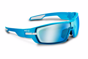 Kask Koo Open blue white super blue lense