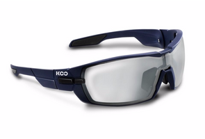 Kask Koo Open matte blue smoke mirror lense