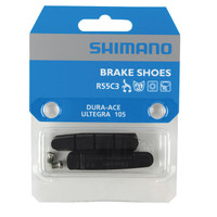 Shimano R55C3 Brake Shoes set with Inserts and Fixing Bolts