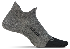 Feetures Elite Ultra Light No Show Tab gray