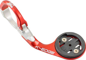 K-Edge Garmin Pro Mount Red Silver