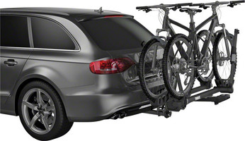 Thule T2 Pro XT Black with bikes