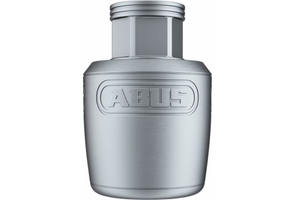 Abus Nutfix Solid Axle Wheel Lock Single silver