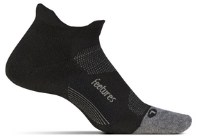 Feetures Elite Max Cushion No Show Tab black