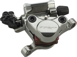 trp hybrid mechanical hydraulic disc brake caliper gray