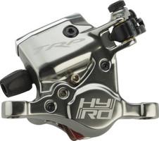 trp hybrid mechanical hydraulic disc brake caliper gray flat mount