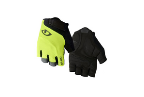 Giro Bravo Gel Glove highlight yellow