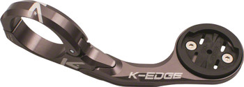K-Edge Garmin Pro XL Mount gunmetal 31.8