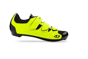 Giro Techne Mens Road Shoe yellow sport factory
