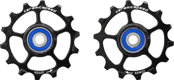 CeramicSpeed SRAM Eagle 14 1-12 Pulley Wheels Non-Coated black