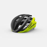 Giro aether spherical mips matte black fade highlight yellow sport factory