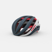 Giro aether spherical mips matte portaro gray/white/red sport factory