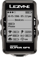 Lezyne Super GPS Cycling Computer all your metrics