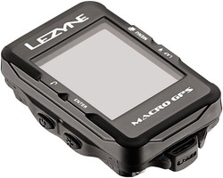 Lezyne Macro GPS Cycling Computer waterproof and usb rechargeable