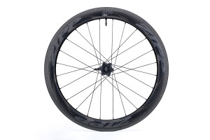 Zipp 404 NSW Carbon Clincher Tubeless Rim Brake Rear SRAM drive side view