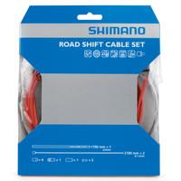 Shimano PTFE Shift Cable Set red