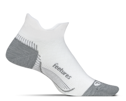 Feetures Plantar Fasciitis Relief Sock white sport factory