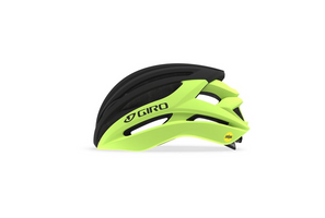 Giro Syntax MIPS Helmet highlight yellow black sport factory