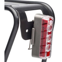 Blackburn Dayblazer 125 Lumen Rear Bicycle Light mounting option