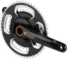 FSA PowerBox Alloy Road Crankset 172.5mm, 11-Speed, 52/36t, 386evo bottom bracket compatibility