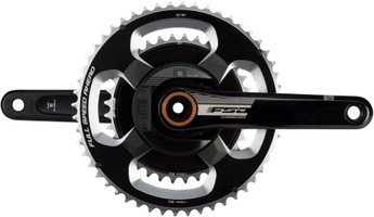 FSA PowerBox Alloy Road Crankset 175mm, 11-Speed, 52/36t, 386evo sport factory