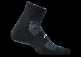 Feetures High Performance ultra light Quarter black sport factory