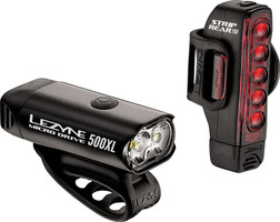 Lezyne Micro Drive 500XL and Strip Headlight and Taillight Set sport factory