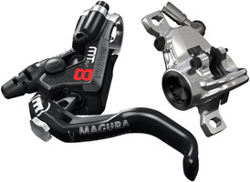 Magura MT8 Pro Disc Brake and 1-Finger Lever, Front or Rear with 2000mm Hose sport factory