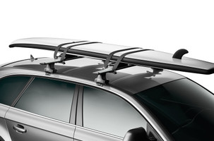 Thule Board Shuttle universal roof rack for surf, paddle, and other boards