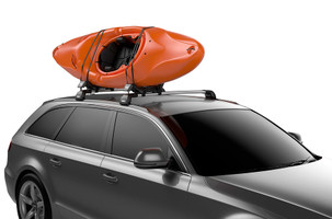 Thule Hull-A-Port XT carries one or two kayaks