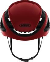 Abus Gamechanger Helmet blaze red sport factory front view