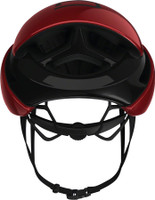 Abus Gamechanger Helmet blaze red sport factory rear view