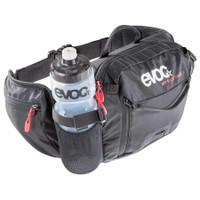 EVOC Hip Pack Race 3L + 1.5L Bladder holds water bottle
