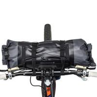 Blackburn Elite Handlebar Roll and Dry Bag compact top view
