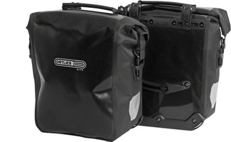 Ortlieb Front-Roller City Pannier black sport factory