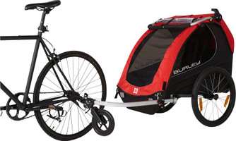 Burley Honey Bee bicycle trailer sport factory