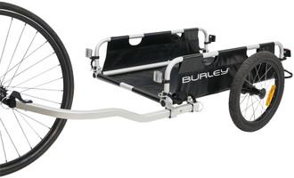 Burley Flatbed Cargo Trailer lightweight folding design