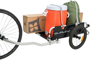Burley Flatbed Cargo Trailer holds 100 pounds