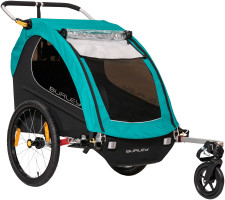 Burley Encore X bike trailer with suspension