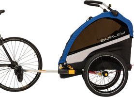Burley D'Lite Single for one child converts to jog stroller