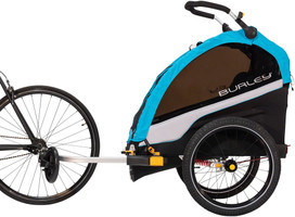 Burley D'Lite X fits two children in comfort