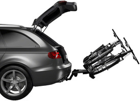 Thule EasyFold XT Hitch Bike Rack 2-Bike pivots out of way