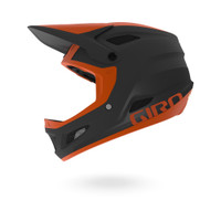 Giro Disciple MIPS matte warm black deep orange