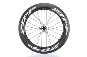 Zipp 808 Firecrest Carbon Clincher Tubeless Disc Brake front white decal